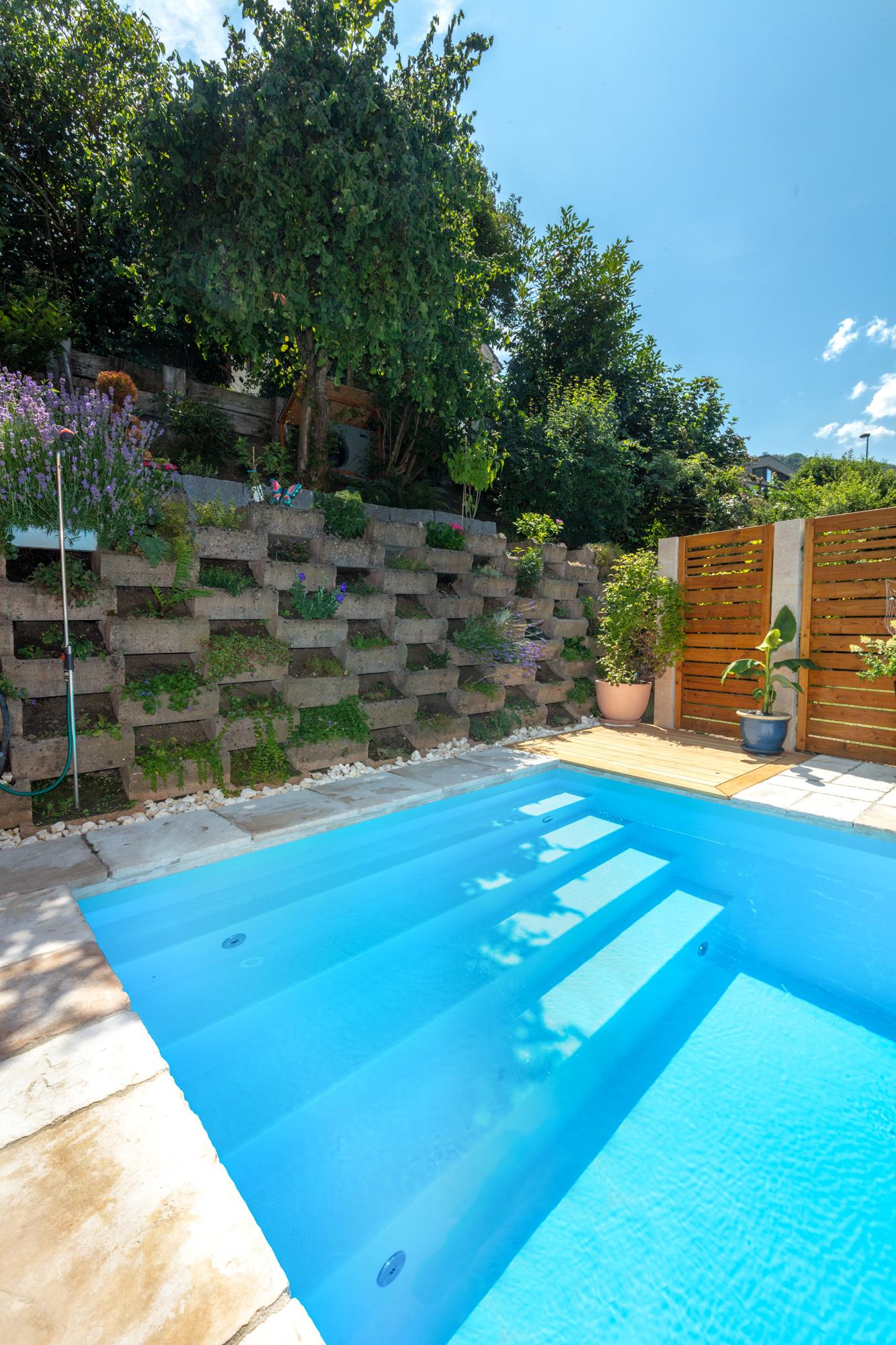 Schwimmbecken mit Treppe Malaga